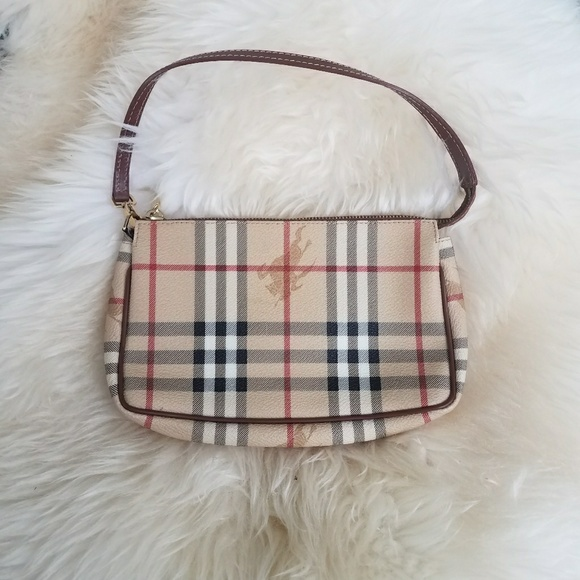 Burberry Handbags - AUTHENTIC BURBERRY SMALL HAYMARKET CHECK SLING BAG 2bcc61962a